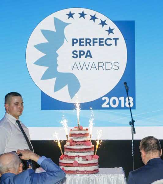 Gala Perfect SPA Awards 2018 tort