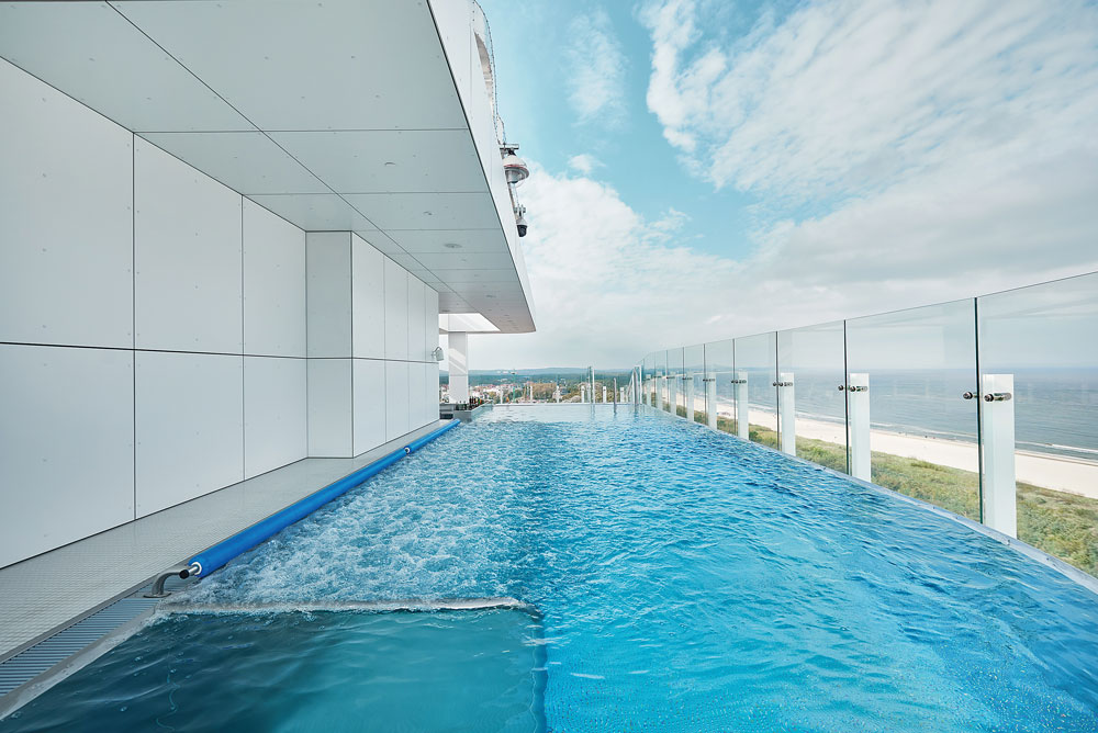 Radisson Blu Resort Swinoujscie infinity pool